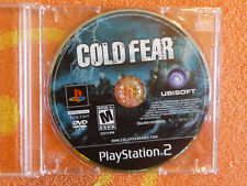 COLD FEAR Sony PlayStation 2 PS2 Ubisoft 2005 DISC ONLY