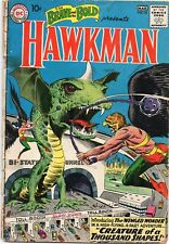 BRAVE AND THE BOLD #34 1st App HAWKMAN DC Comics 1964 GD/GD-