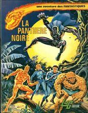 RARE EO 1974 LUG LES FANTASTIQUES N° 3 JACK KIRBY + STAN LEE : LA PANTHÈRE NOIRE