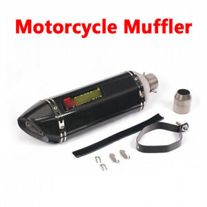 470mm Motorcycle Slip Exhaust System Connect Stainless Steel Muffler Vent Pipe