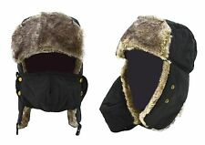 Trapper Aviator Trooper Earflap Warm Ski Hat With Mask Unisex