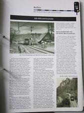 Bahn Lokaufrisse E & Diesel AED 18 Die höllentalbahn Mit 50 Hz