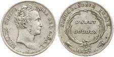 Niederländisch Ostindien, Wilhelm I., 1/4 Gulden 1834 Utrecht