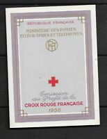 CARNET  CROIX  ROUGE  NEUF X X  ANNEE  1958  SUPERBE