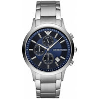 NEW EMPORIO ARMANI MENS GENUINE RENATA CHRONOGRAPH WATCH - AR11164 - RRP £319