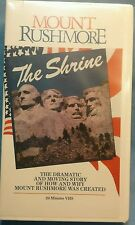 FACTORY SEALED! MOUNT RUSHMORE: THE SHRINE 1986 VHS