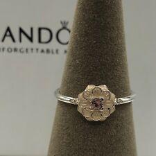 NEW! Authentic Pandora Blooming Dahlia Enamel CZ Ring #190985NBP-48 (4.5)