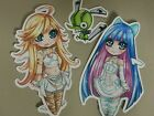 Panty and stocking stickers