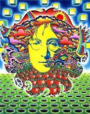 "3.25"" The Beatles, John Lennon Strawberry Fields, STICKER. For your bong or pipe"