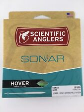 SCIENTIFIC ANGLERS SONAR HOVER WF-8-F/H OPTIC GREEN/PALE GREEN FISHING FLY LINE