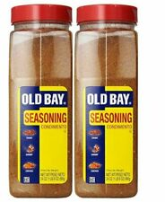 2 Pack of 24oz Old Bay Seasoning For Crab, Seafood, Poultry, Salads, Meats, 48oz