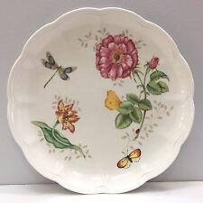 """Lenox Butterfly Meadow Dragonfly pattern 10 7/8"""" Dinner Plate"""