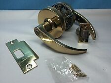 Sargent Grade 1 Lever Removable Core Style, No Keys, includes Cylinder in Brass