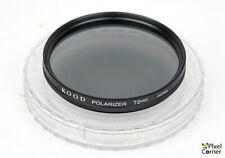 Kood 72mm Polarizer filter  + case - Add some saturation!