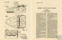First US Patent for CARD SHUFFLER Art Print READY TO FRAME!!!! Vegas
