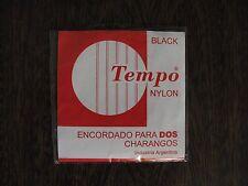 "Charango strings "" TEMPO "" Catalog Nº TMP 01"