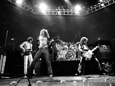 Led Zeppelin Robert Plant Jimmy Page John Bonham 8X10 Glossy Photo Picture