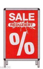 Plakat Nr. 12548 SALE  REDUZIERT  für DIN A1/ Preisschilder Ankleber deko