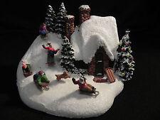 "Thomas Kinkade ""Sleigh Ride"" Telefloral 75th year 2009 Christmas"