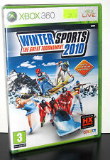 WINTER SPORTS THE GREAT TOURNAMENT 2010 GIOCO NUOVO PER XBOX 360 ED ITA PG655