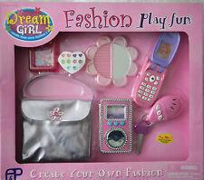 Dream Girl Fashion Play Fun Mädchen Schönheit-Set mit Handy und weitere Zubehör