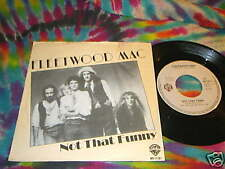 "FLEETWOOD MAC - NOT THAT FUNNY - 7""- HOLLAND ----- K@@L"