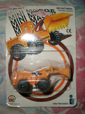 80S VINTAGE MINI MACKS CONSTRUCTION HIGH LIFT TRUCK MOC