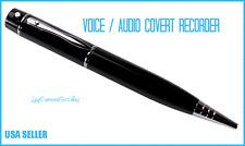 Voice-Audio Recording Black Pen - 128 Hours- 2Gb Memory