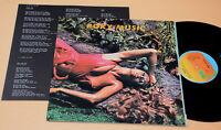 ROXY MUSIC:LP-STRANED-1°ST GATF LAMINATED 1973+INSER EX