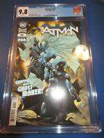 Batman #102 Great A Cover 1st Ghost Maker CGC 9.8 NM/M Gorgeous gem