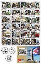 Cub2009 50th Anniversary of Revolution 48v + 2 S/S MNH