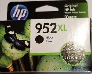 HP 952XL Black Ink Cartridge List $46.99 SALE $36.99  Expires Nov2022