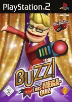 PS2 / Sony Playstation 2 Spiel - Buzz!: Mega Quiz DEUTSCH mit OVP
