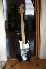 Bass Guitar with Fender Body and Mighty Mite Neck ( Black)