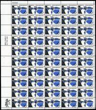 1557. Red & Blue Color Shift ERROR in Full Sheet of 50 Stamps - Stuart Katz