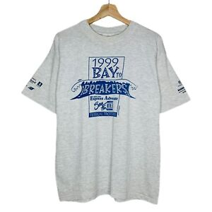 Vintage 1999 Mens Bay to Breakers Terrigal Trotters Central Coast T-Shirt Size M