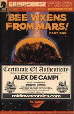 Bee Vixens From Mars #1 SIGNED by ALEX DE CAMPI COA new unread NM 1st print