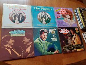 JOB LOT OF 60 VINYL LPS .... 1950'S & 60'S
