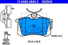 Bremsbelagsatz, Scheibenbremse für Bremsanlage Hinterachse ATE 13.0460-2845.2