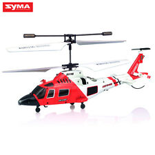 Syma S111G RC Indoor Mini MH-68A Hitron U.S Coast Guard Helicopter Gyro US Stock