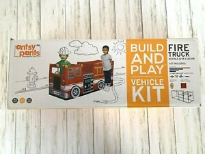 Antsy Pants Build & Play Vehicle Fire Truck Kit ~ NEW