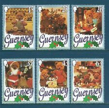 GUERNSEY1997 CHRISTMAS TEDDY BEARS UNMOUNTED MINT. MNH