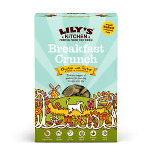 Lily's Kitchen Breakfast Crunch Complete Dog Food 800g Free Delivery