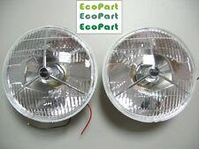 "0001-CLASSIC CAR AUSTIN MINI MG COBRA 7"" HEAD LAMPS P700 HEAD LIGHTS 2PCS/PAIR"