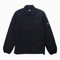 Penfield Blackstone Mens Quilted Overshirt Shirt Jacket M Medium BNWT Black New