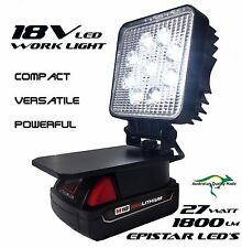 M18v Milwaukee Adapt LED Light Work Light Flood Light Spot Light Torch Compact