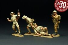 FIGARTI PEWTER WW2 BRITISH 8TH-001 HOLDING THE PERIMETER MIB