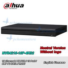 Dahua Neutral Versio NVR4216-16P-4KS2 16Ch 16PoE 4K&H.265 Network Video Recorder