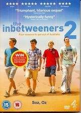THE INBETWEENERS MOVIE 2 - NEW / SEALED DVD - UK STOCK