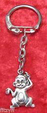 Cheeky Monkey Primate Small Keyring Gift Key Ring Animal Lovers Gift Souvenir